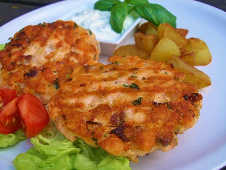 V kuchyni vždy otevřeno ...: Lososový burger podle Pohlreicha