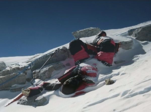 "Deaths often are a result of climbers ""taking a nap"" and never waking up. 