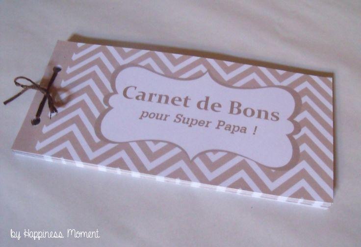 .. Carnet de Bons pour un Super Papa! ..