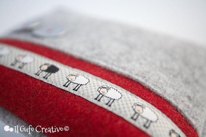 Little sheep pochette - Il Gufo Creativo   Flickr – Condivisione di foto!