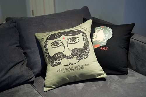 Concert Tshirt Made into a Pillow