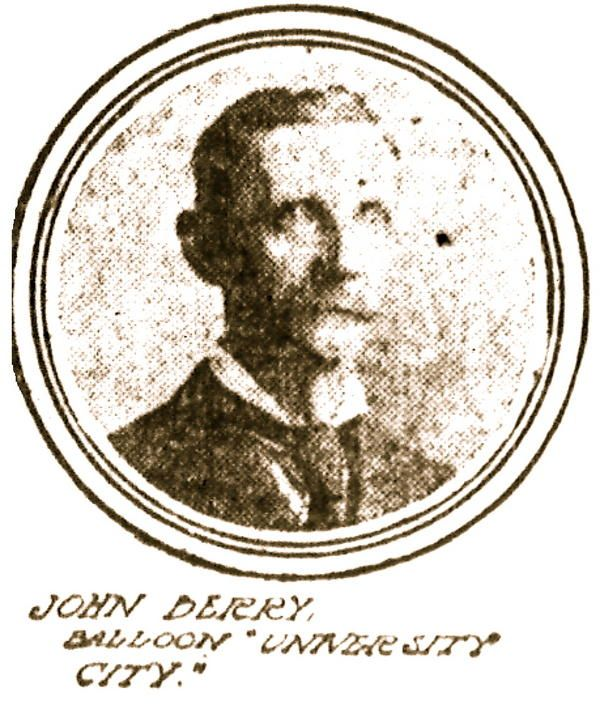 John Berry - University City   First Super Speedway