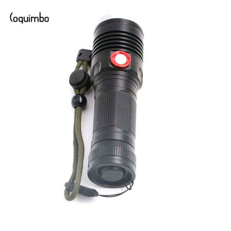 Coquimbo 3800 Lumens T6 LED USB Flashlight 3 Modes Zoomable Super Bright Torch Light Used 1*26650 Battery Tactical Flashlight  #Affiliate