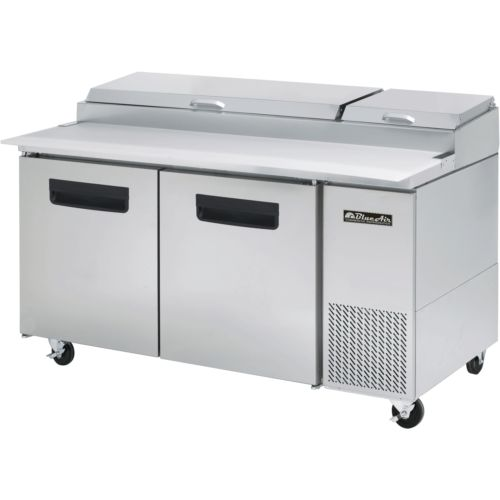 """Commercial Stainless Steel Pizza Prep Table Refrigerator 67"""" x 32"""""""