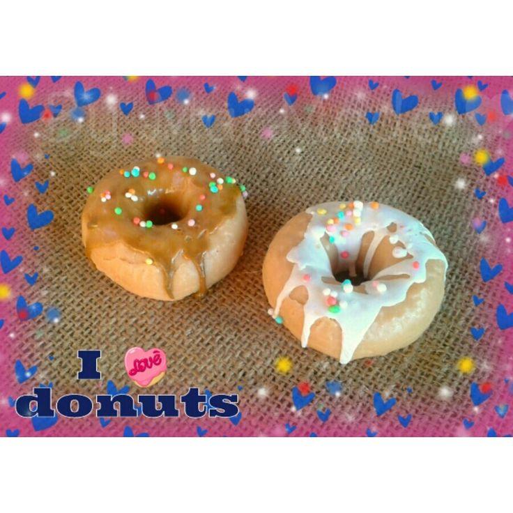 Donut soaps