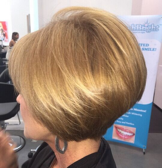 Classy Short Bob Haircuts for Women Over 40 - Women Short Hairstyle Ideas