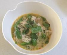Lemon Grass & Chilli Soup with Vermicelli Noodles and Chicken