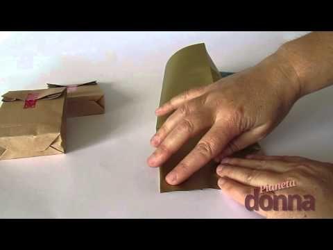 Sacchetti di carta: ecco come realizzarli in casa - YouTube