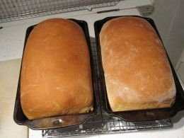How to bake bread using your kitchen aid mixer.  Homemade bread fresh out of the oven.