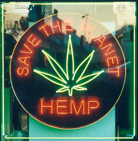 Hemp can be made into rope, paper, clothing, canvas, eaten, and its seeds can be used for fuel. It's also good for the planet. A study by McGill University in California estimated that 1 1/2 to 3 1/2 million acres of industrial hemp would cover all oil needs. Tobacco destroys soil; marijuana improves it. Legal in Uruguay, Peru, India, and Iran.  It could produce thousands of jobs, take care of world hunger, help greenhouse gases, and the pain of AIDs, glaucoma, and cancer.