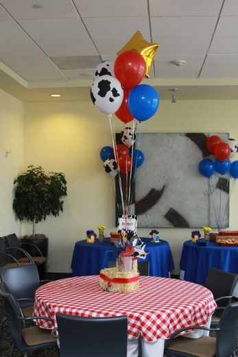 """Photo 30 of 38: Toy Story/Cowboy / Birthday """"Woody's Round Up Party"""""""