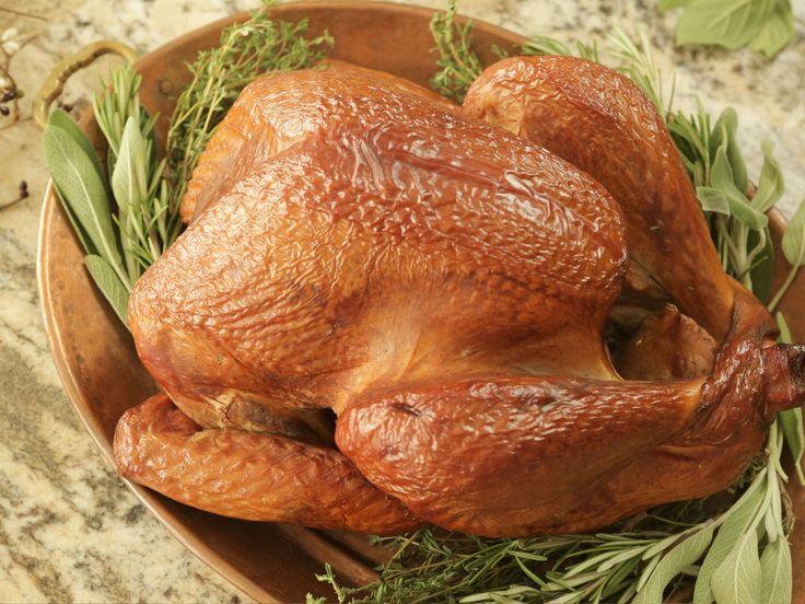 Smoked Whole Turkey recipe from Damaris Phillips via Food Network