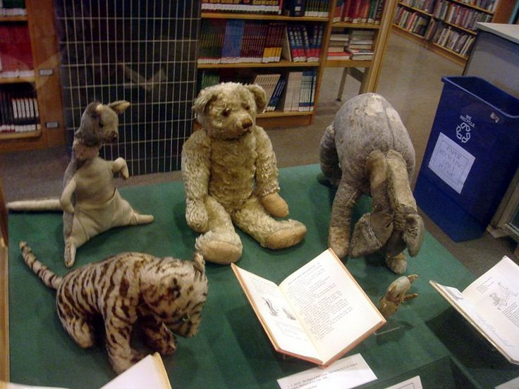 The original Winnie the Pooh and stuffed animals that belonged to Christopher Robin...nbd.