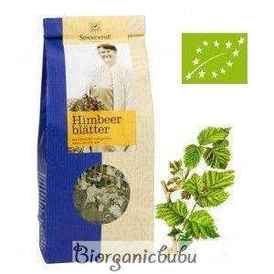 Ceai ecologic Frunze de zmeura vrac, 50 g