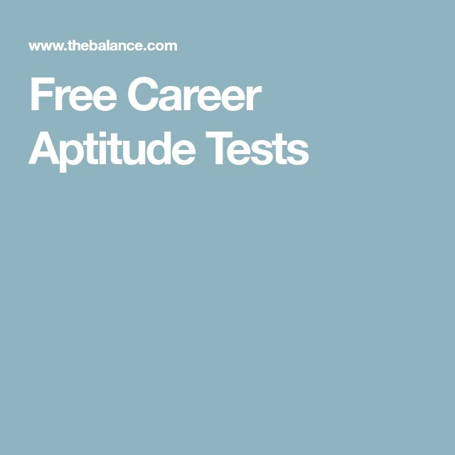 Free Career Aptitude Tests  Career Aptitude Test Free
