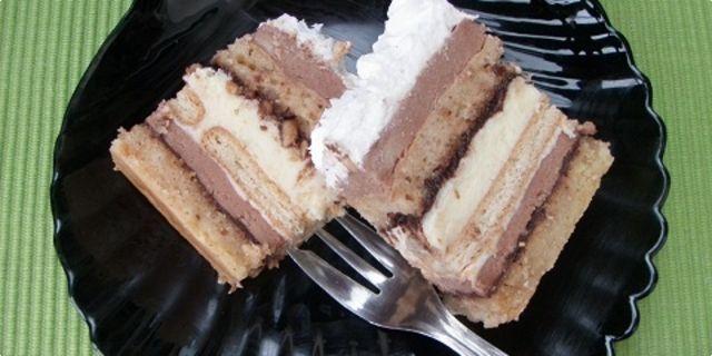Posna kinder torta ...
