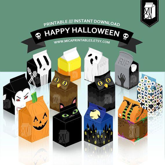 #Halloween #Printables #Party #Favor #Decoration #DIY #Craft by MicaPrintables