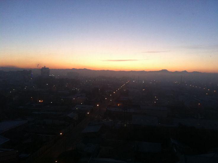 Talca al amanecer