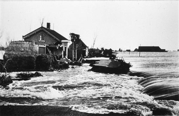 overstroming zeeland 1953