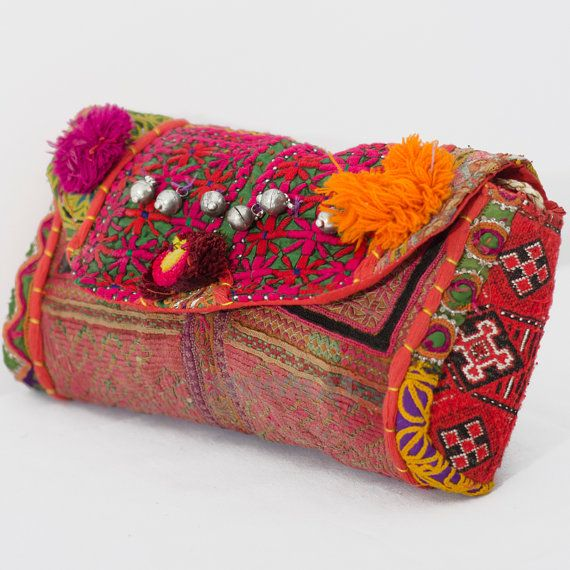 Statement Clutch - etno garden by VIDA VIDA od31ie