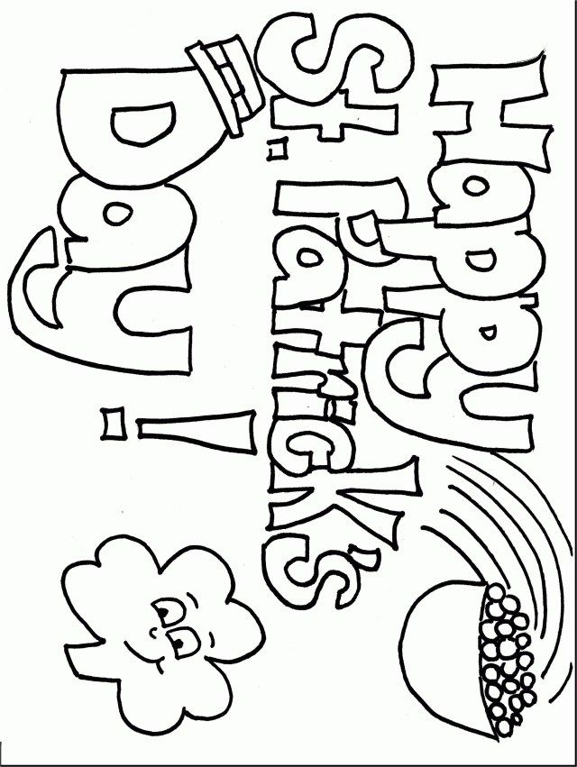 23 Beautiful Picture Of Dltk Coloring Pages Saint Patricks Day