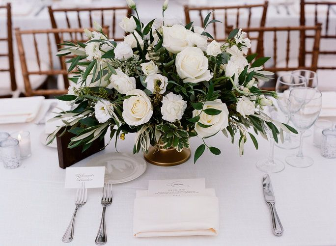 All-White Wedding Tips and Ideas — White Wedding Decor and Flowers Photos   InStyle.com