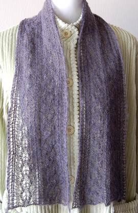 Free Knitting Pattern - Scarves: Mist Lace Scarf.....You have to search for it. I found it on page 4.