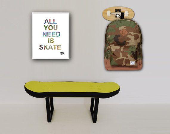 1000 ideas about skateboard decor on pinterest for Boys skateboard bedroom ideas