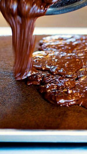 The Best Chocolate Sheet Cake. Ever | Recipe