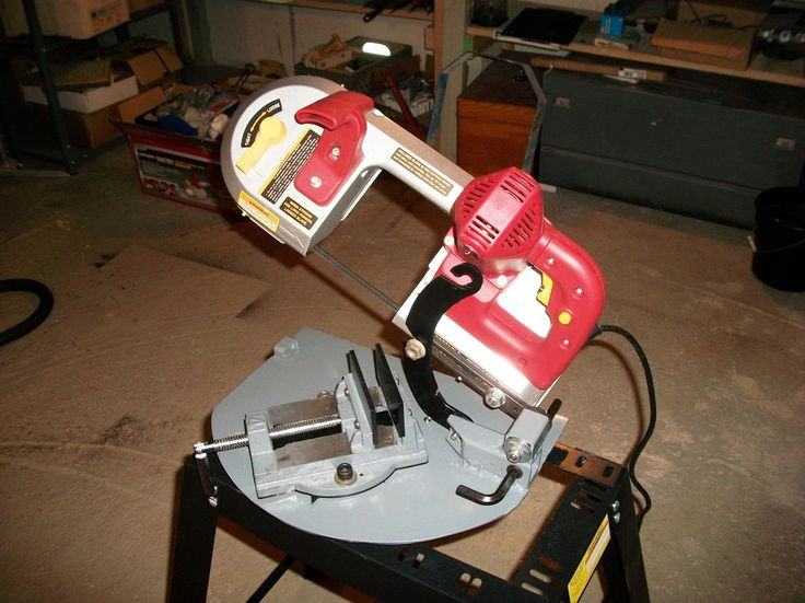 HF portable/miter/vertical bandsaw - Home Model Engine Machinist