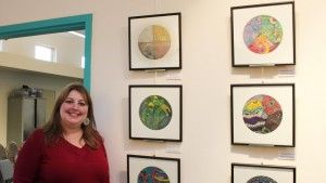 Wendoodles series by Southwestern College's Art Therapy student Wendy Wasserman. Capstone project @Southwestern College Santa Fe.