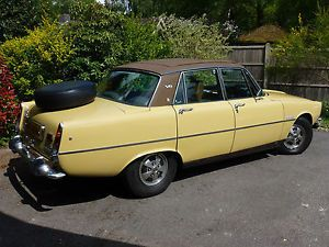 1974 ROVER 3500 V8 P6..Rover V8 number two and a firm favourite