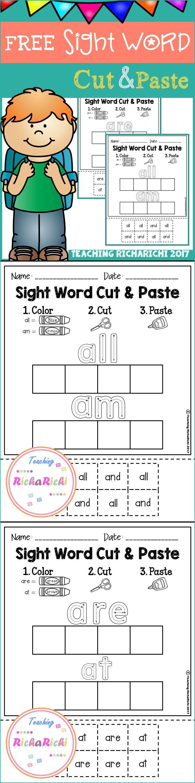 The 25 best First grade sight words ideas on Pinterest