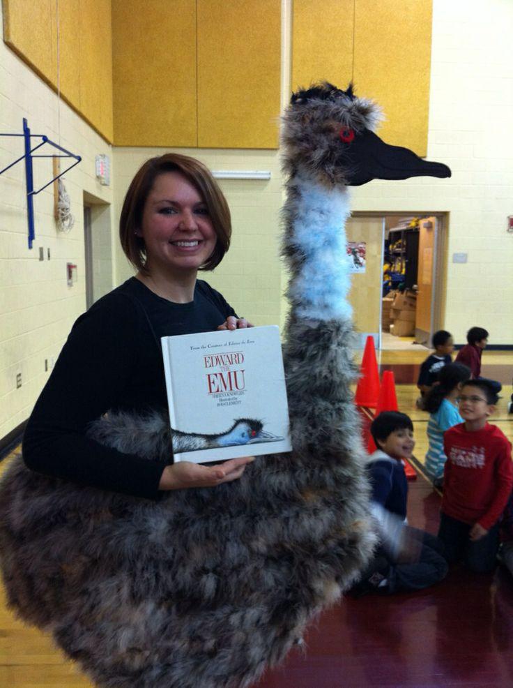 """Storybook Parade """"Edward the Emu"""""""