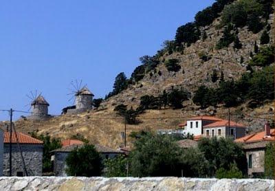 Kontias village, Lemnos Greece