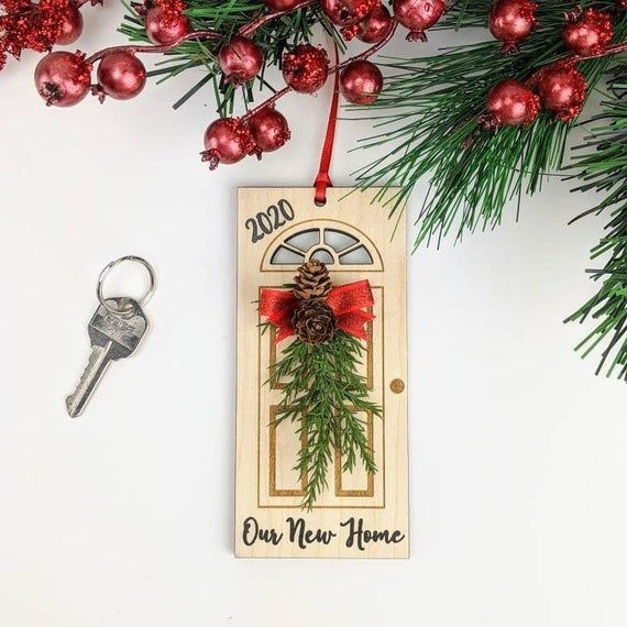 White House Laser Cut Christmas Ornaments 2021 Our New Home Christmas Ornament 2021 New House Ornament Door Etsy House Ornaments Personalized Christmas Ornaments Hallmark Christmas Ornaments