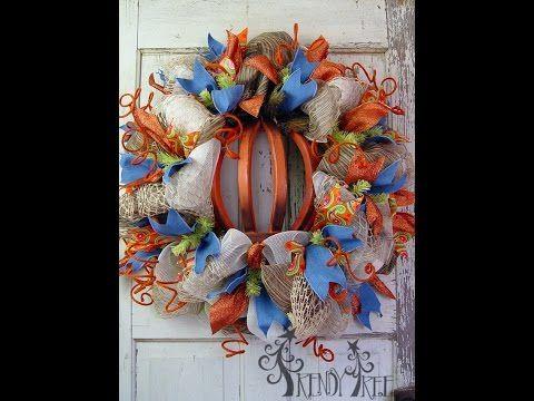 Spring Door Hangers Diy Wreath Tutorial