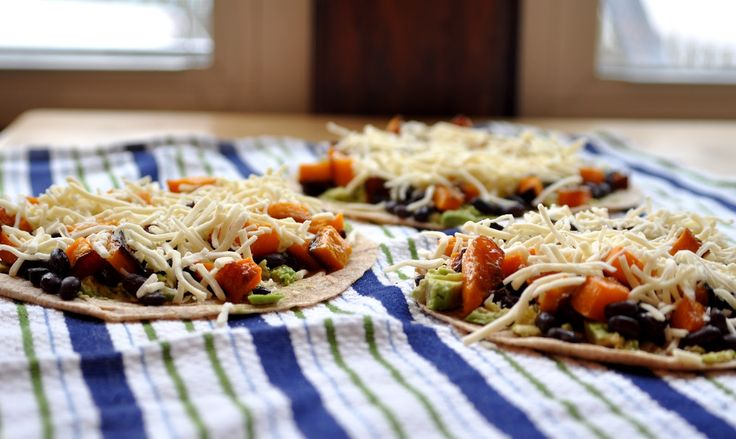 Roasted Butternut Squash Quesadillas by twobluelemons