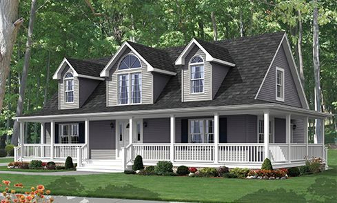 1000 ideas about country modular homes on pinterest for Modular cape cod homes