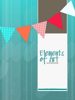 Teach students about the 7 Elements of Art with this workbook. Each page covers one of the Elements and asks students to complete a task in order to help them understand the Elements. Composition tips and songs are also included!Included in the workbook:- Title Page- Elements of Art (definition) sign- Principles of Art (definition) sign- Composition (definition) sign- List of the 7 Elements- The Elements of Art Song (with definitions)- EoA & PoD songs- Line worksheet- Shape & Form wo...