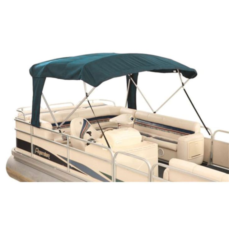awning cover dual canvas top covers pontoon canopy canada boat tops
