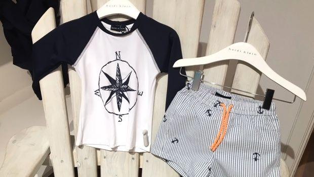 Getting ready for winter sun holidays with new heidi klein boys swimwear