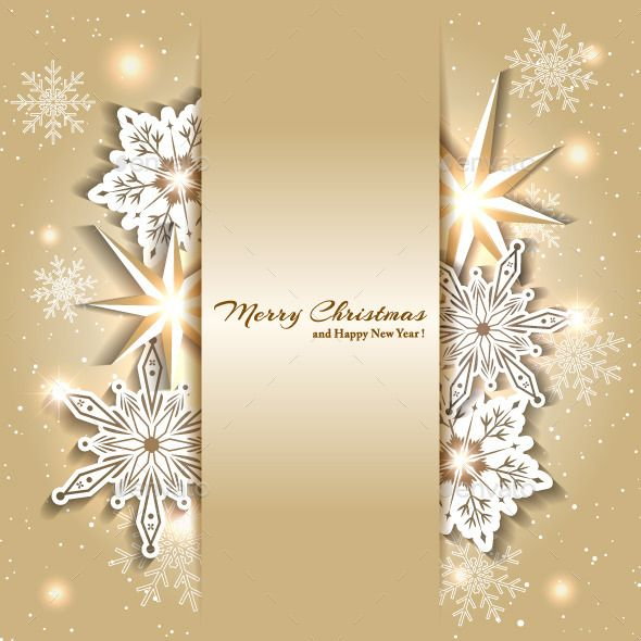 Golden Christmas Background Vector EPS #design Download: http://graphicriver.net/item/golden-christmas-background/9806553?ref=ksioks
