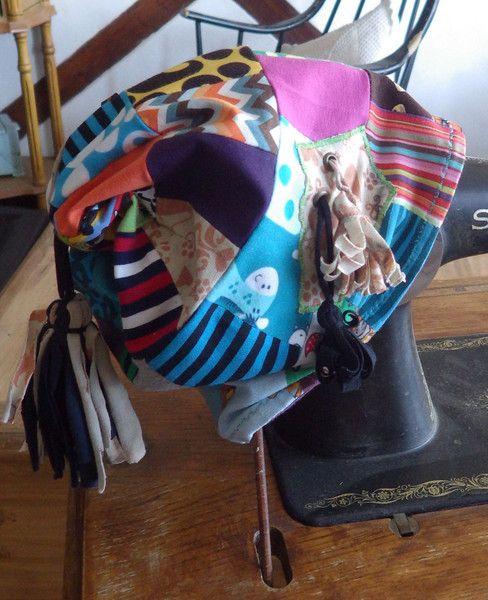 """Kopfbedeckung - Handmade Beanie """"Patchwork"""" - ein Designerstück von Die-Revoluzzerin bei DaWanda"""