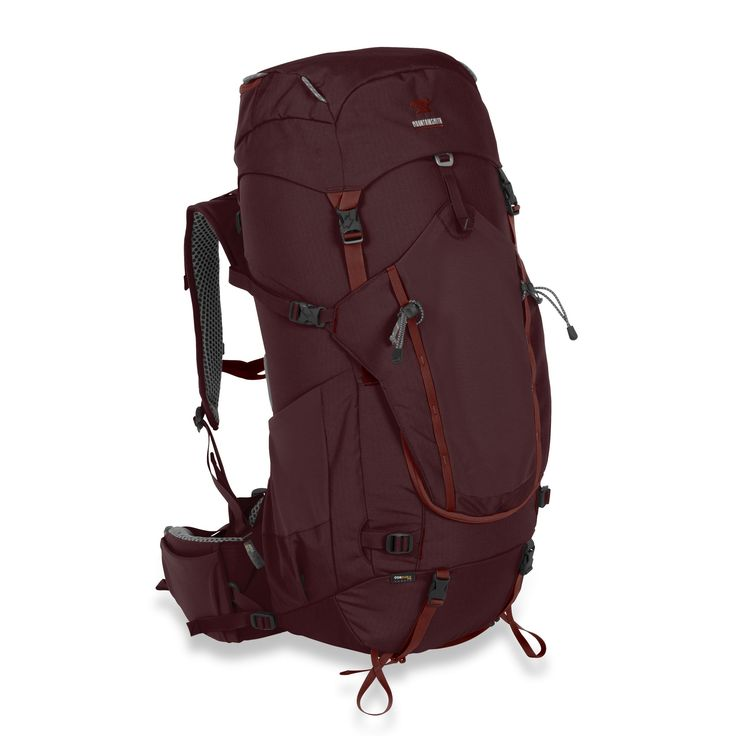 This 60 liter internal frame backpack was made specifically for women taking extended journeys on long trails. Designed from the waist belt up, with a focus on ergonomics, the Apex backpacking bag is