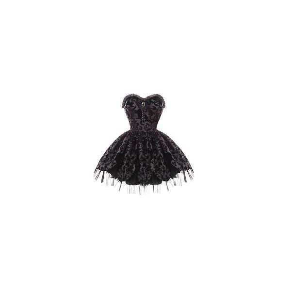 Gothic Prom Dress ❤ liked on Polyvore featuring dresses, gothic prom dresses, prom dresses, goth prom dresses, gothic clothing dresses and cocktail prom dress