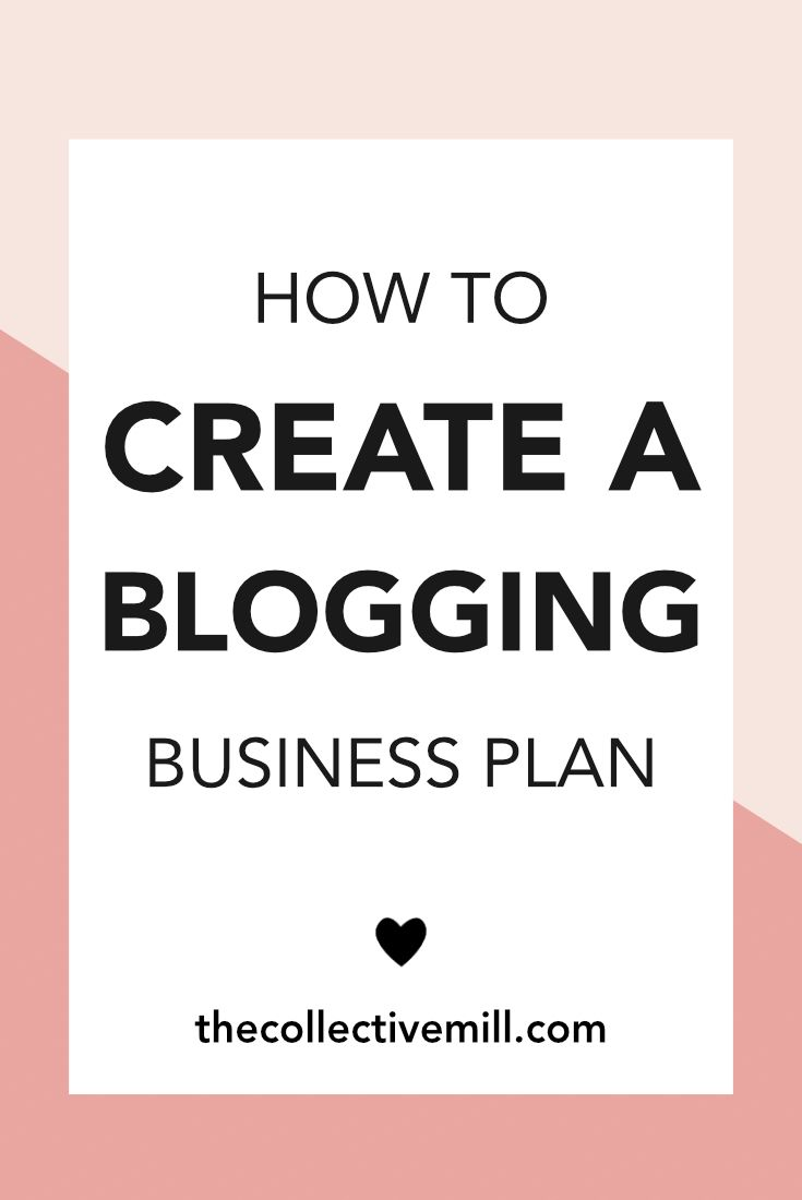 How to Create a Blogging Business Plan: A blogging business plan is so important if you're a new blogger. It will help you set goals, define your target market, determine what differentiates your blog from competitors, and figure out the best ways to monetize your website. Plus, when you write things down they're more likely to happen. Click on the pin to see how to create one. I also included a FREE worksheet to help you along the way!! TheCollectiveMill.com