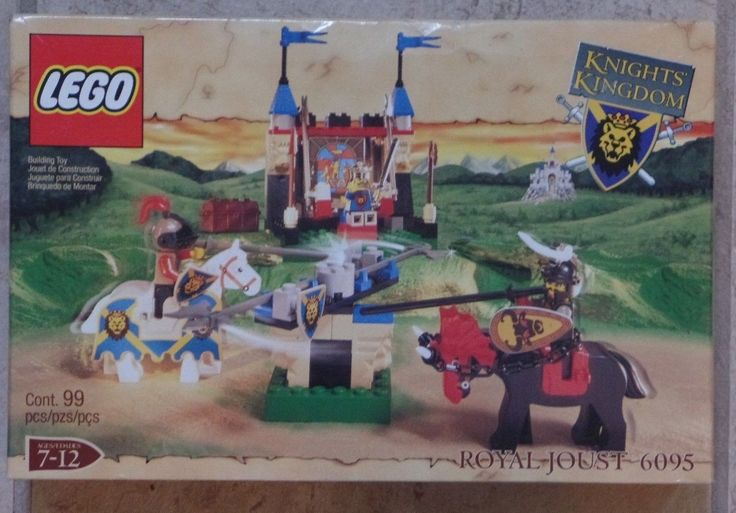 Lego 6095 Knights Kingdom Royal Joust - Castle Set New MISP Sealed 2000
