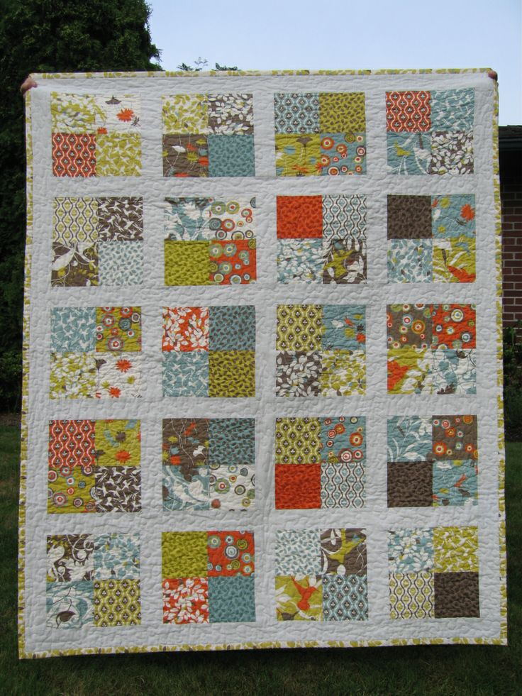 I think I shall make this in Lewis and Irene Honey Meadow fabrics for my mother-in-law
