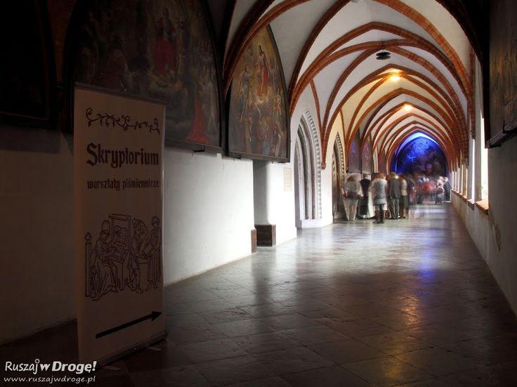 #Katedra w Pelplinie - skryptorium w krużgankach, #Poland